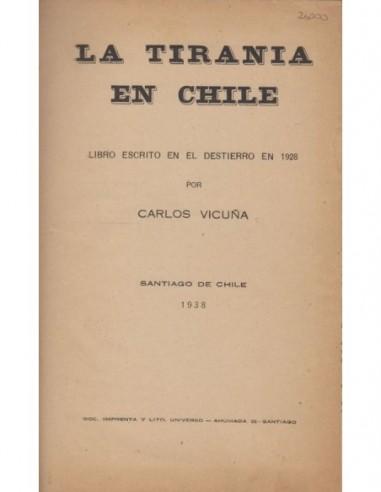 La tirania en Chile Usado