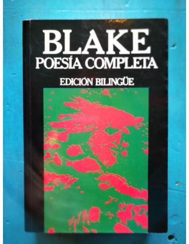 Poesía completa Blake Usado