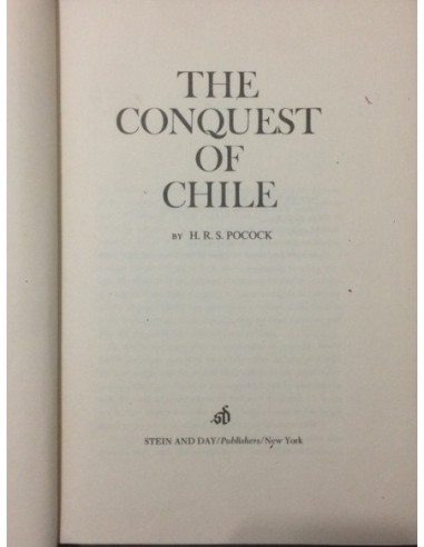 The conquest of Chile Usado