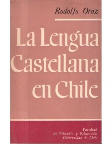 La lengua castellana en Chile Usado