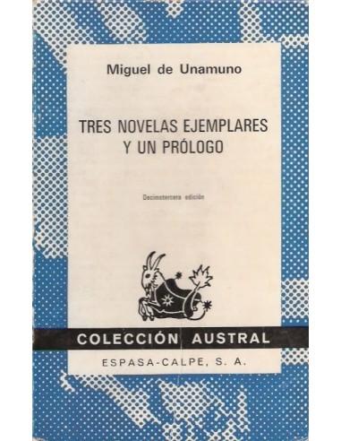Tres novelas ejemplares y un prólogo...