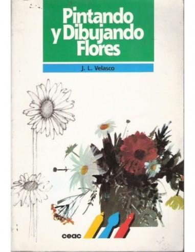 Pintando y dibujando flores Usado