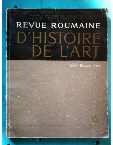 Revue roumaine dhistoria de lart Tome...