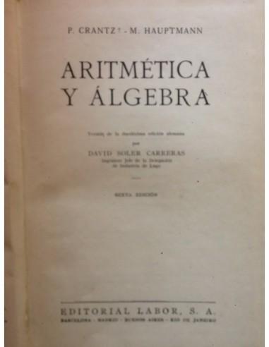 Aritmtica y álgebra Usado