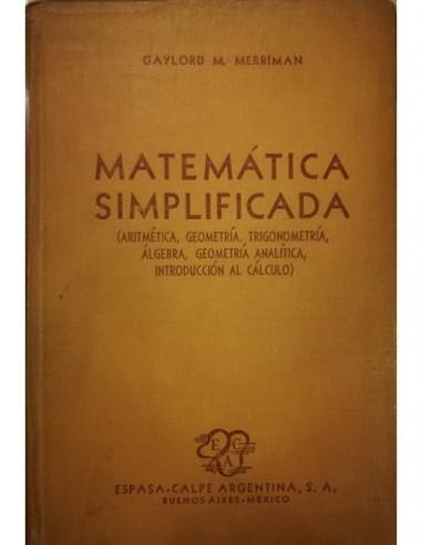 Matemática simplificada Usado