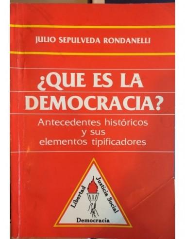 Qu es la democracia Usado