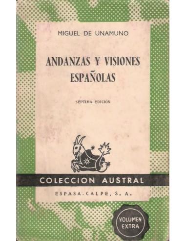 Andanzas y visiones españolas Usado