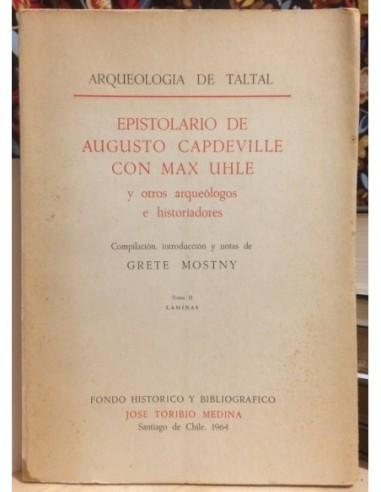Epistolario de Augusto Capdeville con...