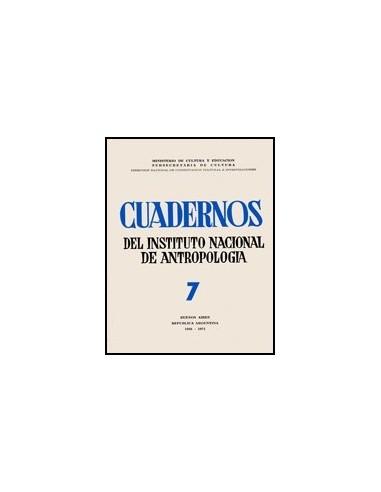 Cuadernos del Instituto Nacional de...