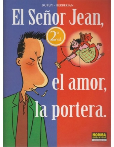 El Señor Jean el amor la portera
