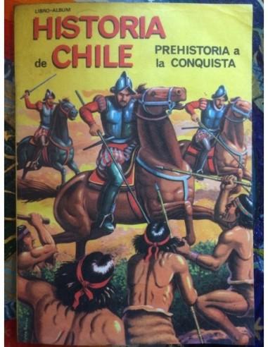 Libro álbum Historia de Chile...