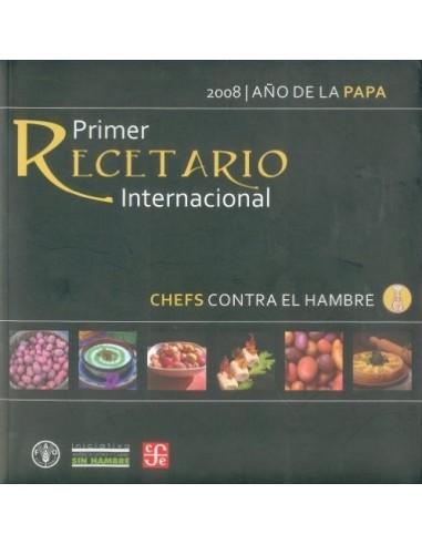 Primer recetario internacional Chefs...