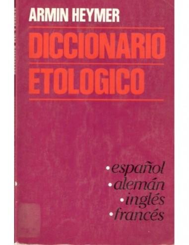 Diccionario etológico Usado