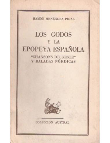 Los godos y la epopeya española Usado